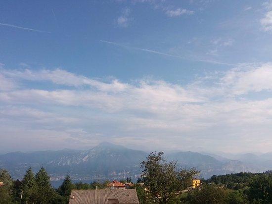 San Zeno di Montagna, Italien: panorama dall'hotel