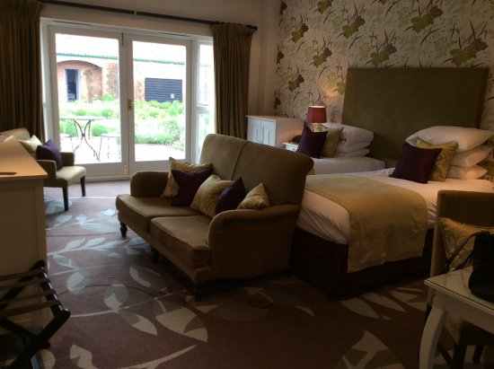 Congham Hall Hotel & Spa: Our garden room