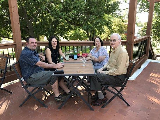 Mulvane, KS: Family @ Luciano's....