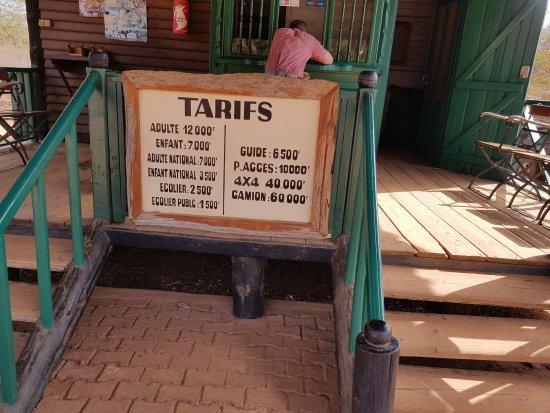 La Petite Cote, Senegal: Tarifs