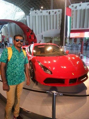 Ferrari World Abu Dhabi : FERRARI CAR