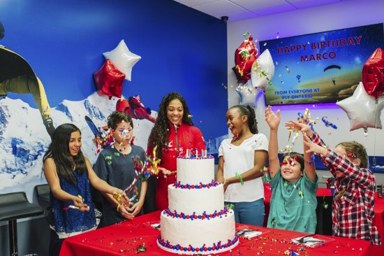 Yonkers, NY: At iFLY we specialize in making birthdays an unforgettable and thrilling event.