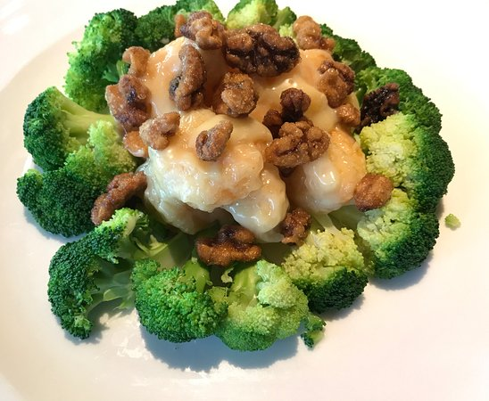 Westerville, OH: Honey Walnuts Shrimp