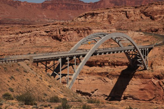 Blanding, UT: Hite Crossing Bridge in Utah