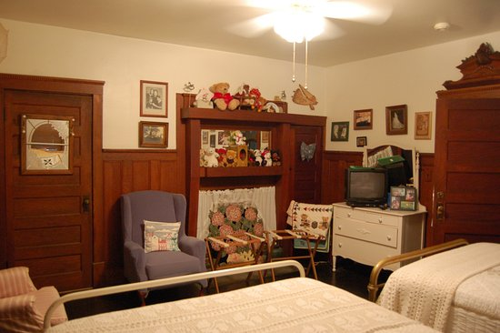 Damascus, VA: Sister's Room with 2 double beds