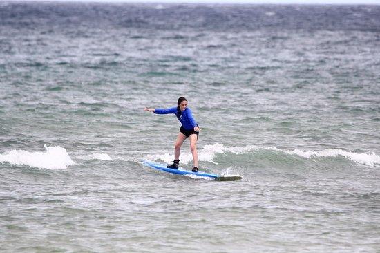 Surfing with Maui Beach Boys in Kihei, HI