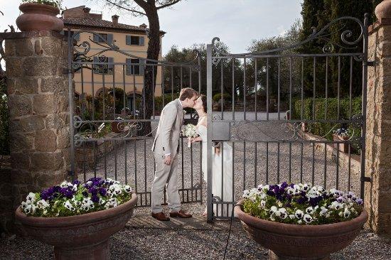 Our wedding at Terre di Nano - photo by Alfredo Falvo