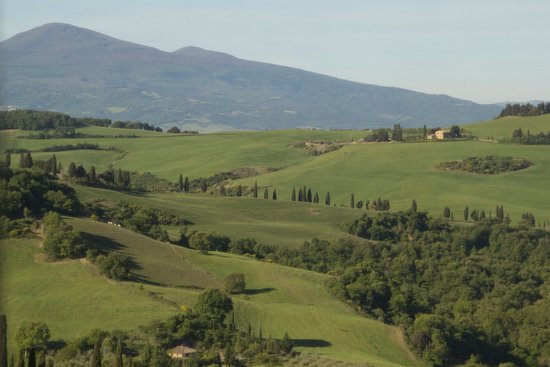 View from our room at Terre di Nano