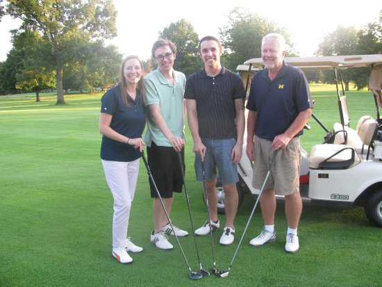 Coldwater, MI: The annual golf outing is a special event that helps support the Tibbits.