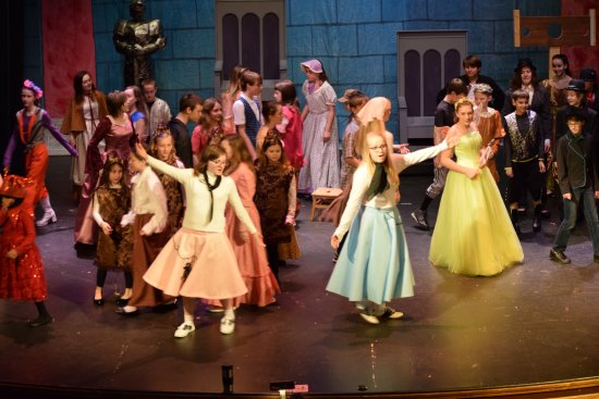 Coldwater, MI: TYA (Tibbits Young Audiences) allows grade-school kids to star on the Tibbits stage.