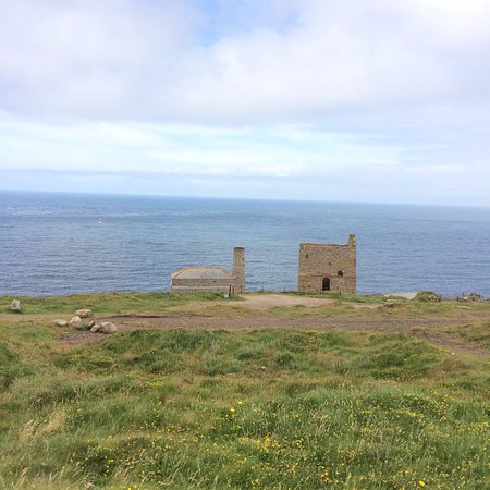 Pendeen, UK: Levant mine where a beam engine is still operational