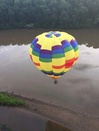 Charlottesville, VA: view of second balloon