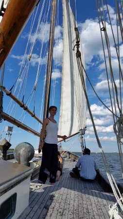 Chatham, MA: A beautiful day on a classic boat