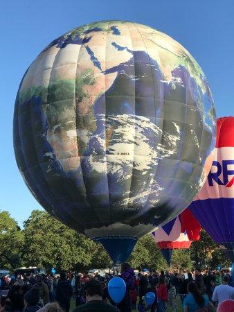Windsor, Californië: Sonoma Balloon Festival