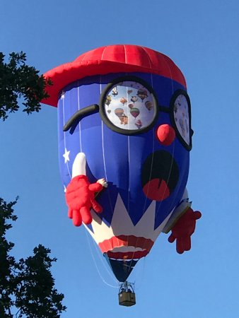 Windsor, Californië: Sonoma Balloon Festival