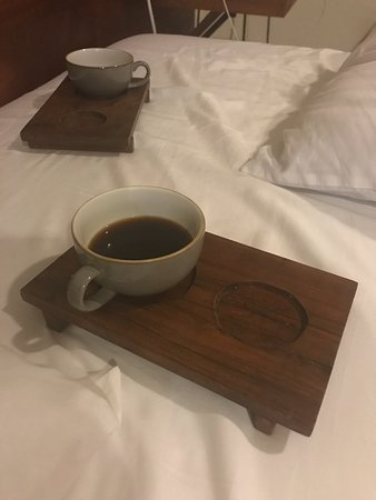 Mezzanine Colibri Boutique Hotel: Cute coffee holders