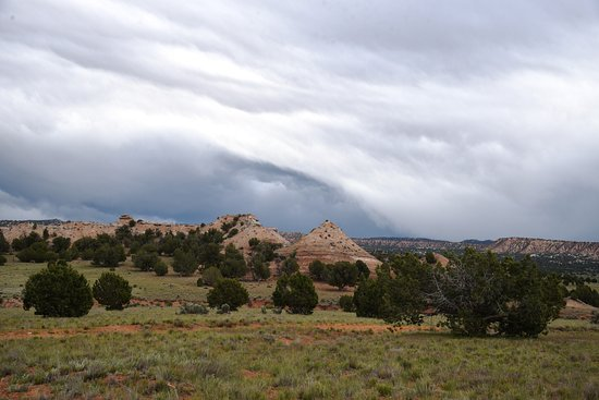 Cannonville, UT: Check out those clouds!