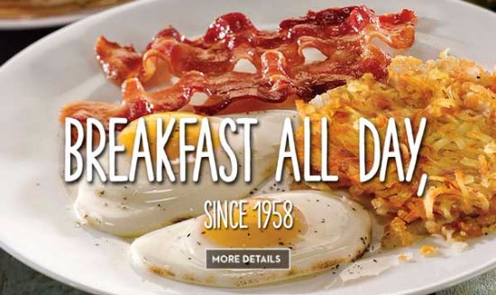 Medicine Hat, Canada: great ALL DAY breakfasts