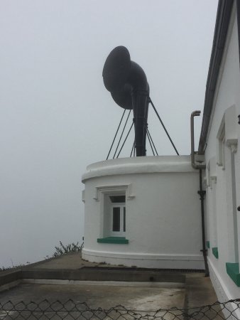 Lizard, UK: The old fog horns