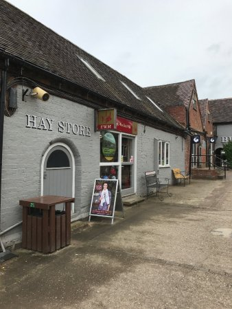 """Hatton, UK: The """"village"""" street"""