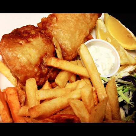 Upland, كاليفورنيا: Best fish and chips in town!