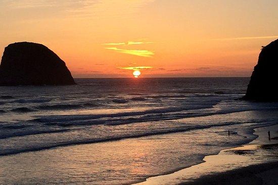 Sunset from Oceanside INN