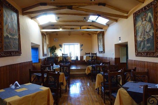 Amaru Hostal: Breakfast room