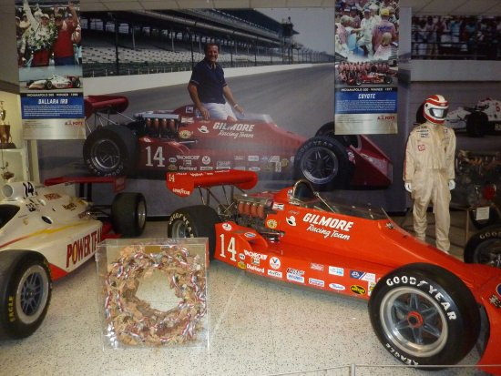 A Corner Of The Foyt Car Gallery Picture Of