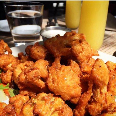 Culver City, Californië: Cauliflower wings