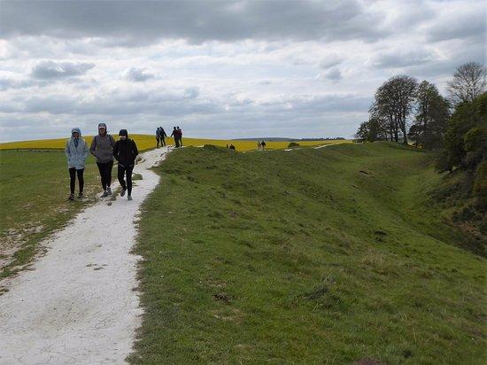 Avebury, UK: Walking Path