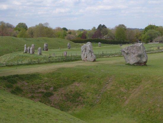 Avebury, UK: Good View of the Stones