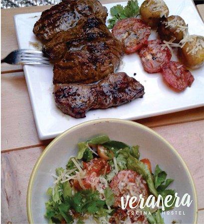 churrasco a la plancha con tomates asados papa criolla y ensalada rh tripadvisor co uk