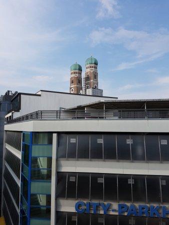 Mercure Hotel Muenchen City Center: vista dei tetti del centro di Monaco
