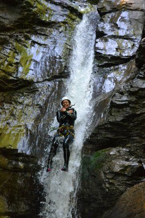 Saint Jean d'Aulps, Γαλλία: Canyoning in Nyon Canyon, Morzine