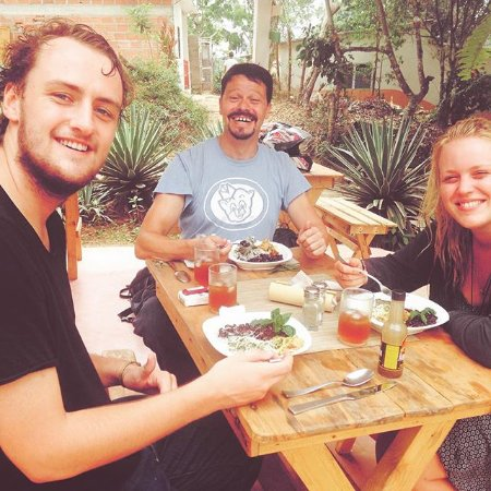 Minca, Kolumbia: Ven y disfruta de nuestro almuerzo Vegetariano.