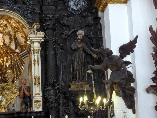 Sanlucar de Barrameda, Spain: Zur Rechten des Altarbilds.