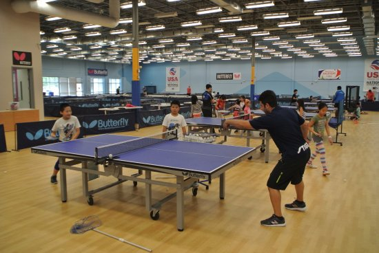 Triangle Table Tennis: Group training