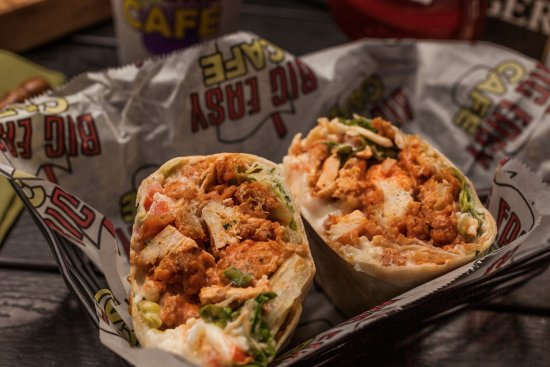 Harvey, LA: Buffalo Chicken Wrap