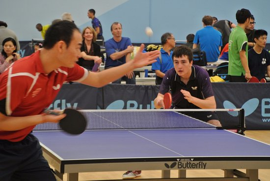 Triangle Table Tennis: USATT 4-Star Sanction Tournament action