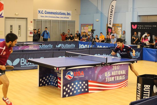 USATT 2017 National Team Trials at Triangle Table Tennis