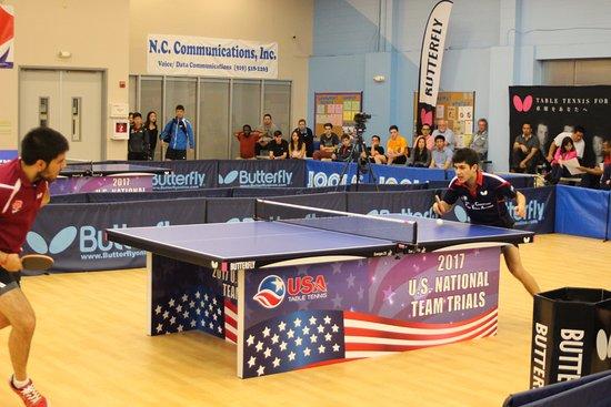 Morrisville, Carolina del Norte: USATT 2017 National Team Trials at Triangle Table Tennis