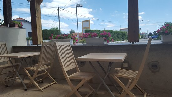 Luneville, Γαλλία: Terrasse