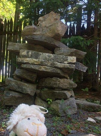 Wendake, Canada: Inukshuk