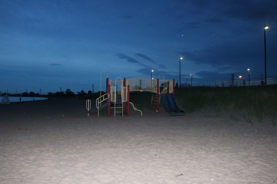 East Chicago, IN: beach side playground