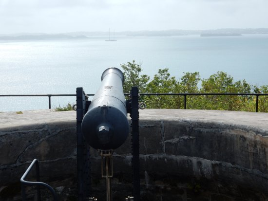 Sandys Parish, Bermuda: Fort Scaur Artillery Placement