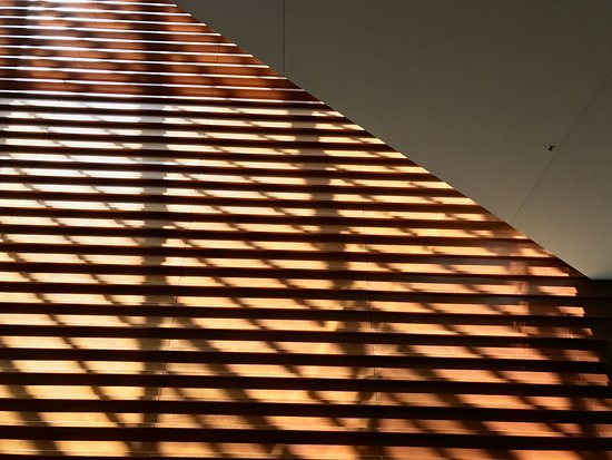 Kimmel Center for the Performing Arts: light plays on wall from skylight