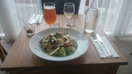Simrishamn, Sweden: Caesar sallad