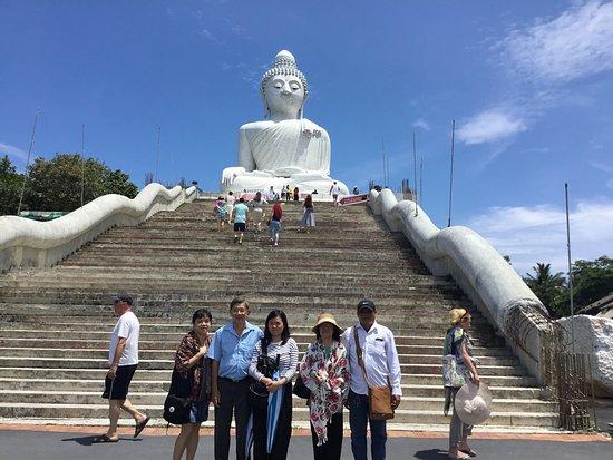 Chalong, Thailand: พระใหญ่ยอดเขานาคเกิด จังหวัดภูเก็ต