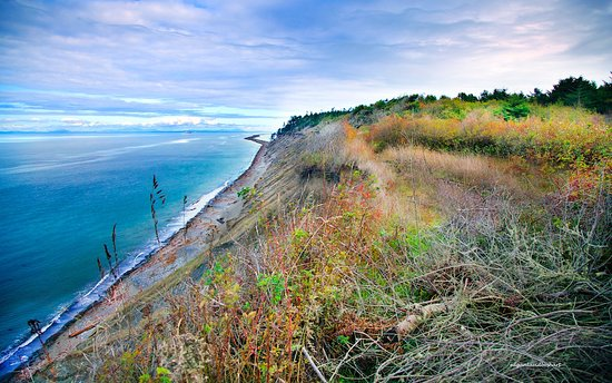 Sequim, WA: Spit from the Bluff
