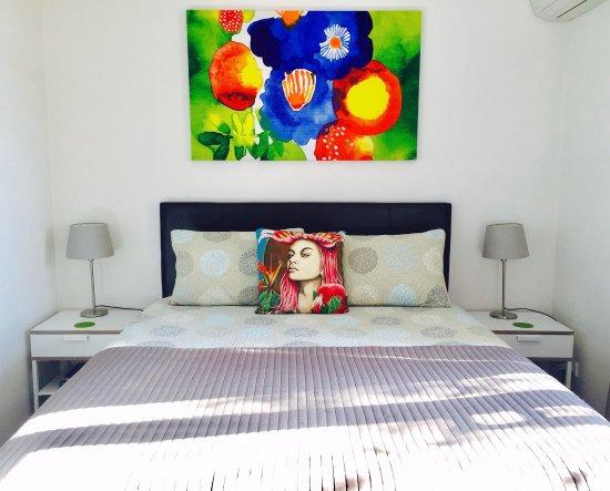 Bondi, ออสเตรเลีย: Studio 08-bedroom area